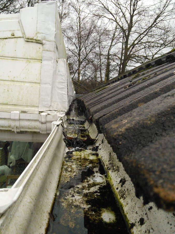 Accessing Boxed Gutter In Conservatory From Underneath