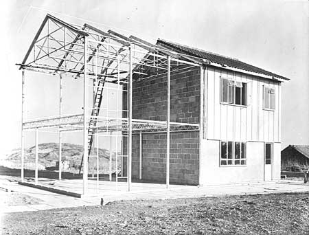 Steel Framed House 1950s Build Page 2 Diynot Forums