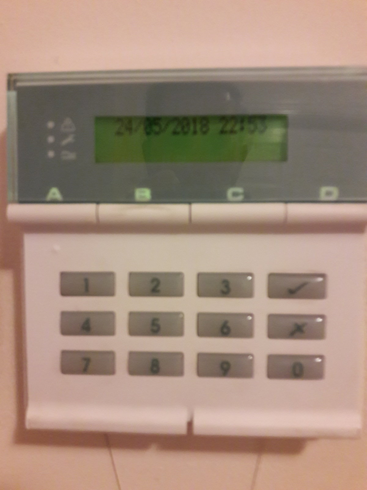 Back Up Alarm >> Scantronic 9651 low battery | DIYnot Forums