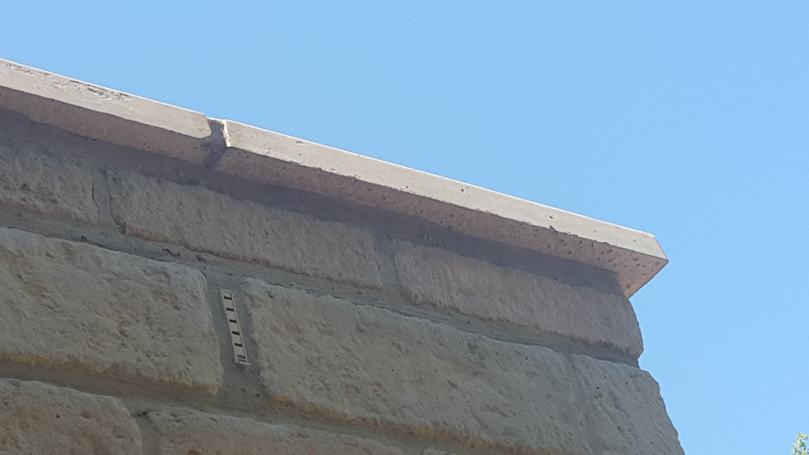 New Flat Roof Extension Parapet Copings Diynot Forums