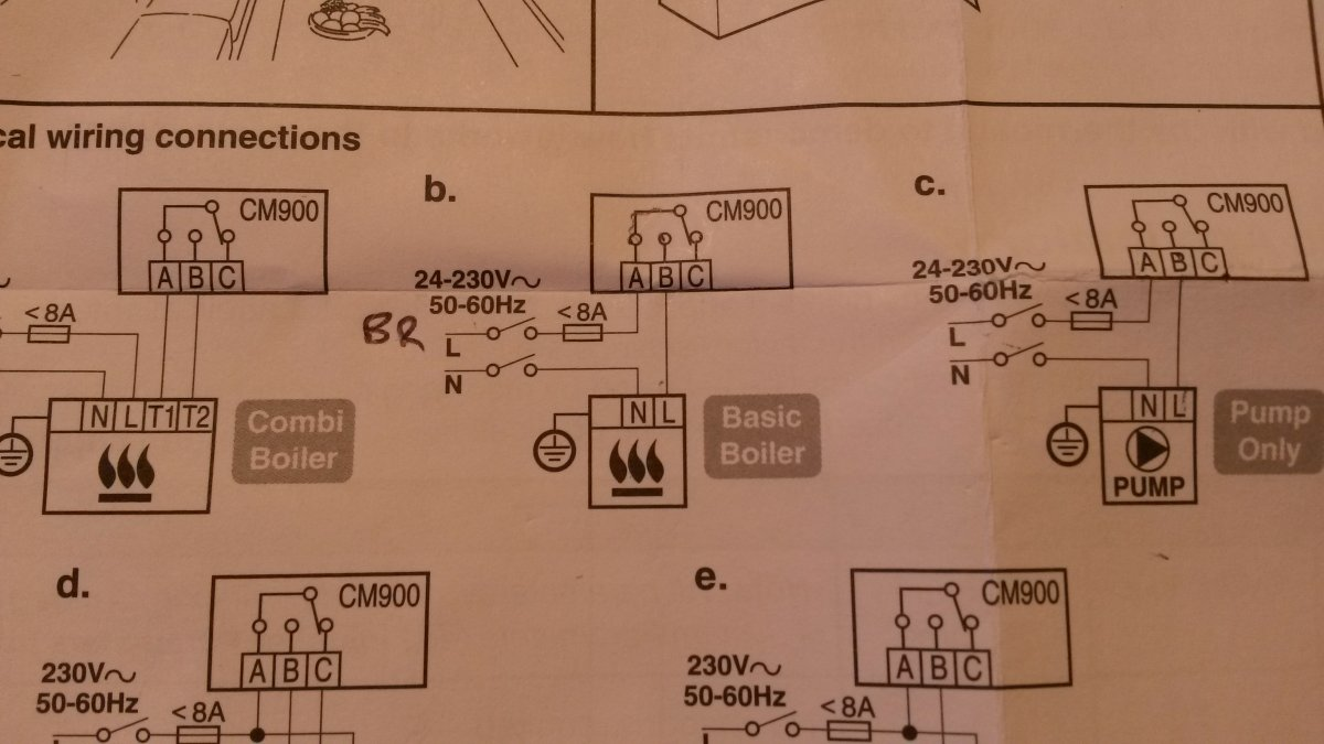 honeywell cm907 room 'stat swap out diynot forums boiler pump overrun wiring diagram at reclaimingppi.co