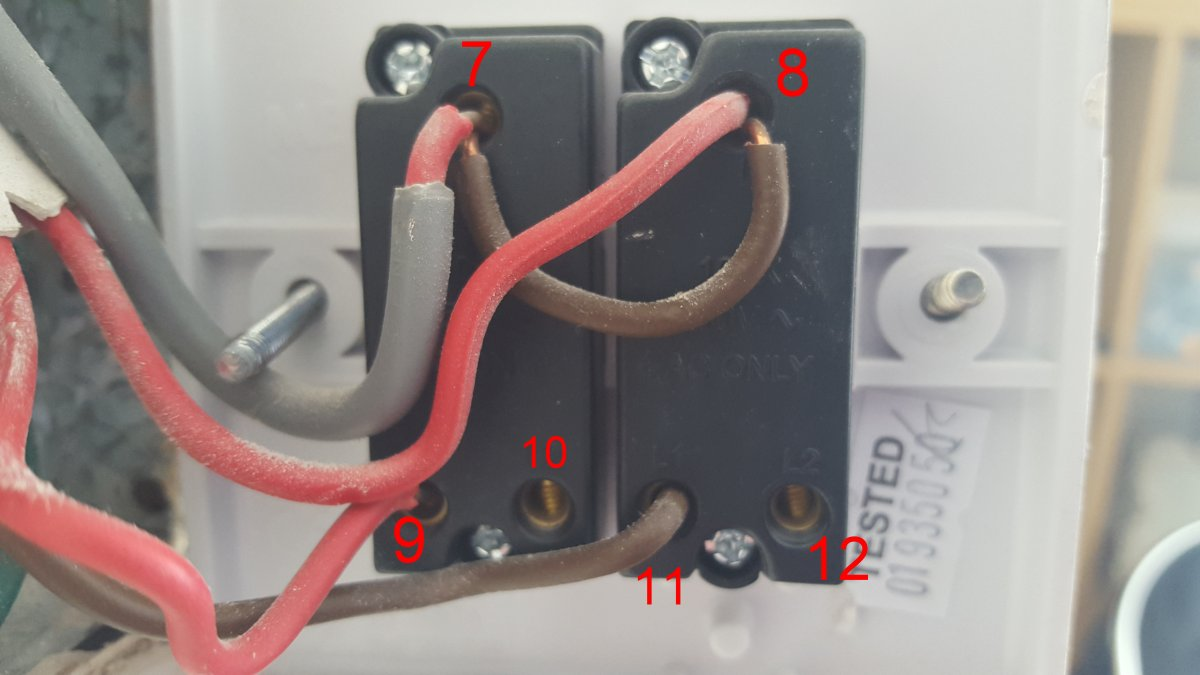 Double Dimmer Switch Wiring Diagram Circuit Schematic Gang Of