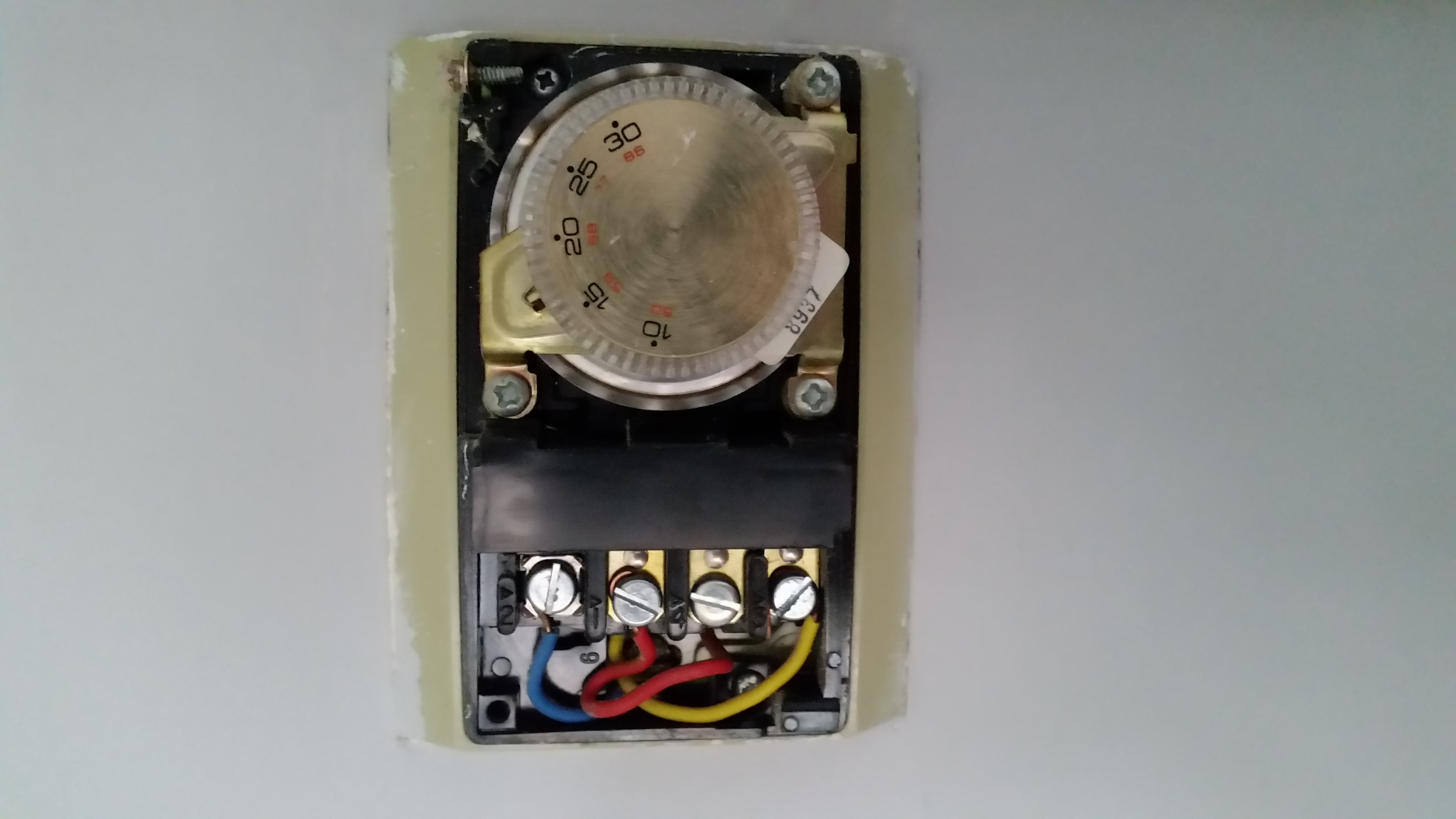 Changing Old Honeywell thermostat to Wireless thermostat ... on