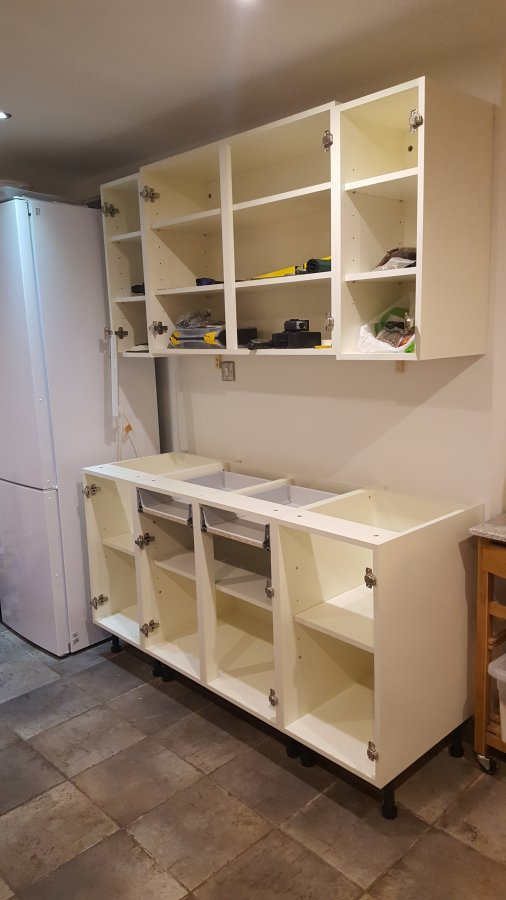 Advice On Installing New Kitchen Units Diynot Forums