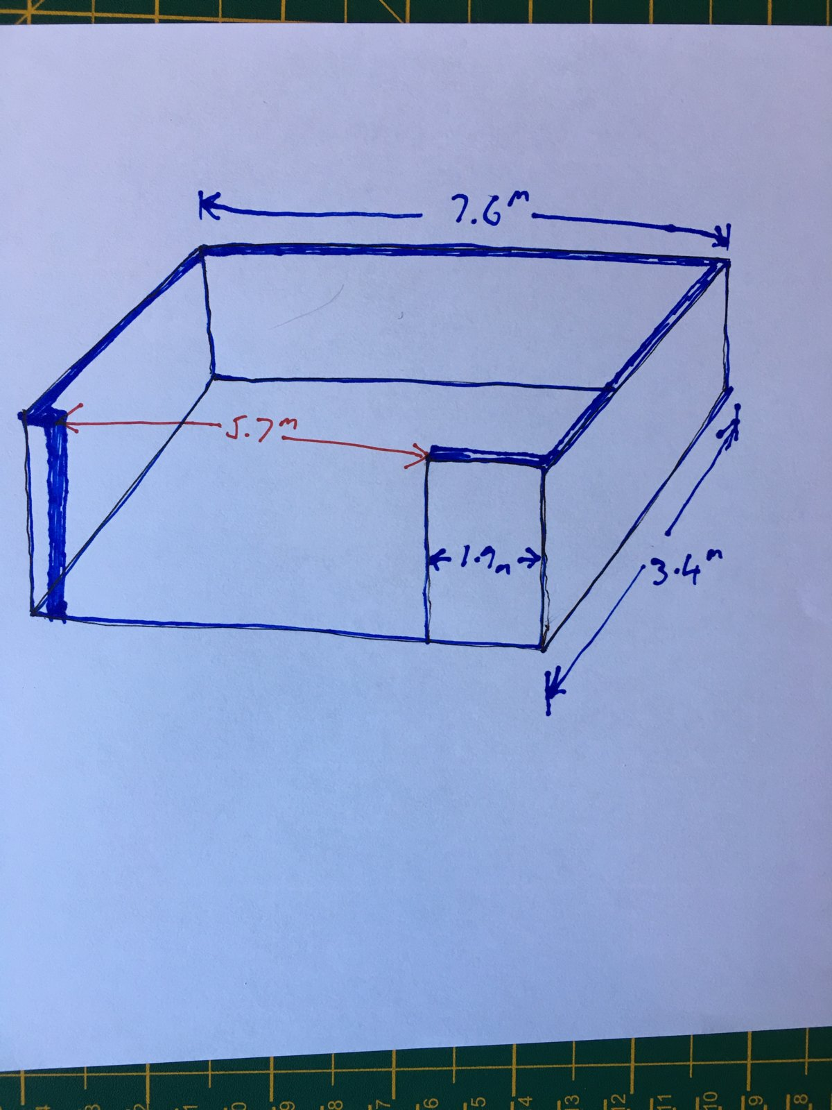6m Span flat roof support beam | DIYnot Forums