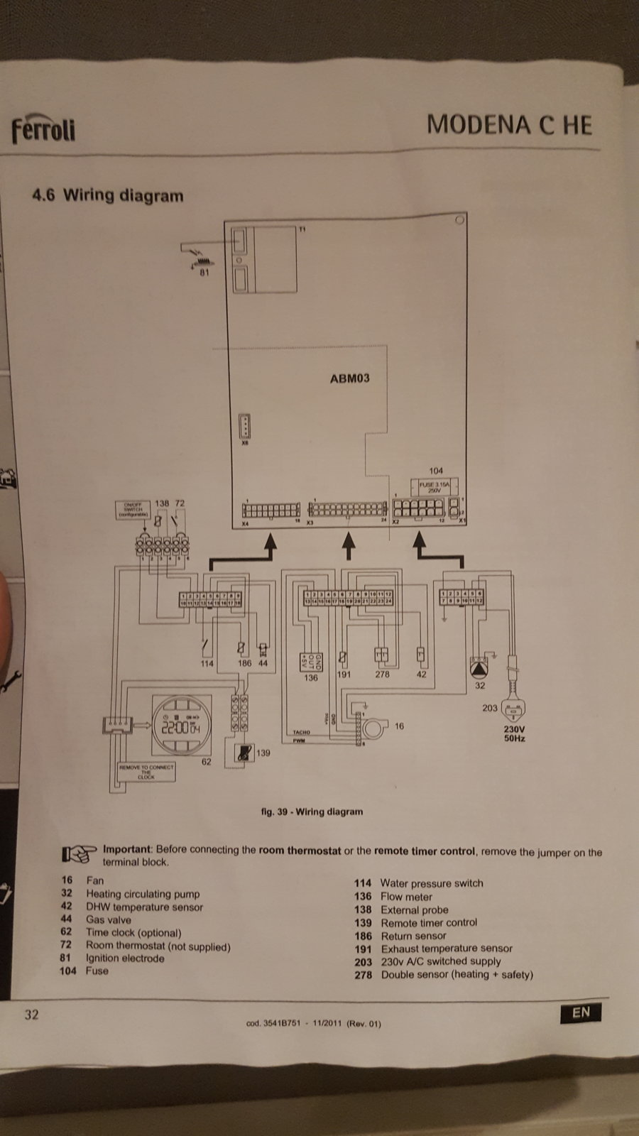 Wiring Diagram Central Heating Boiler