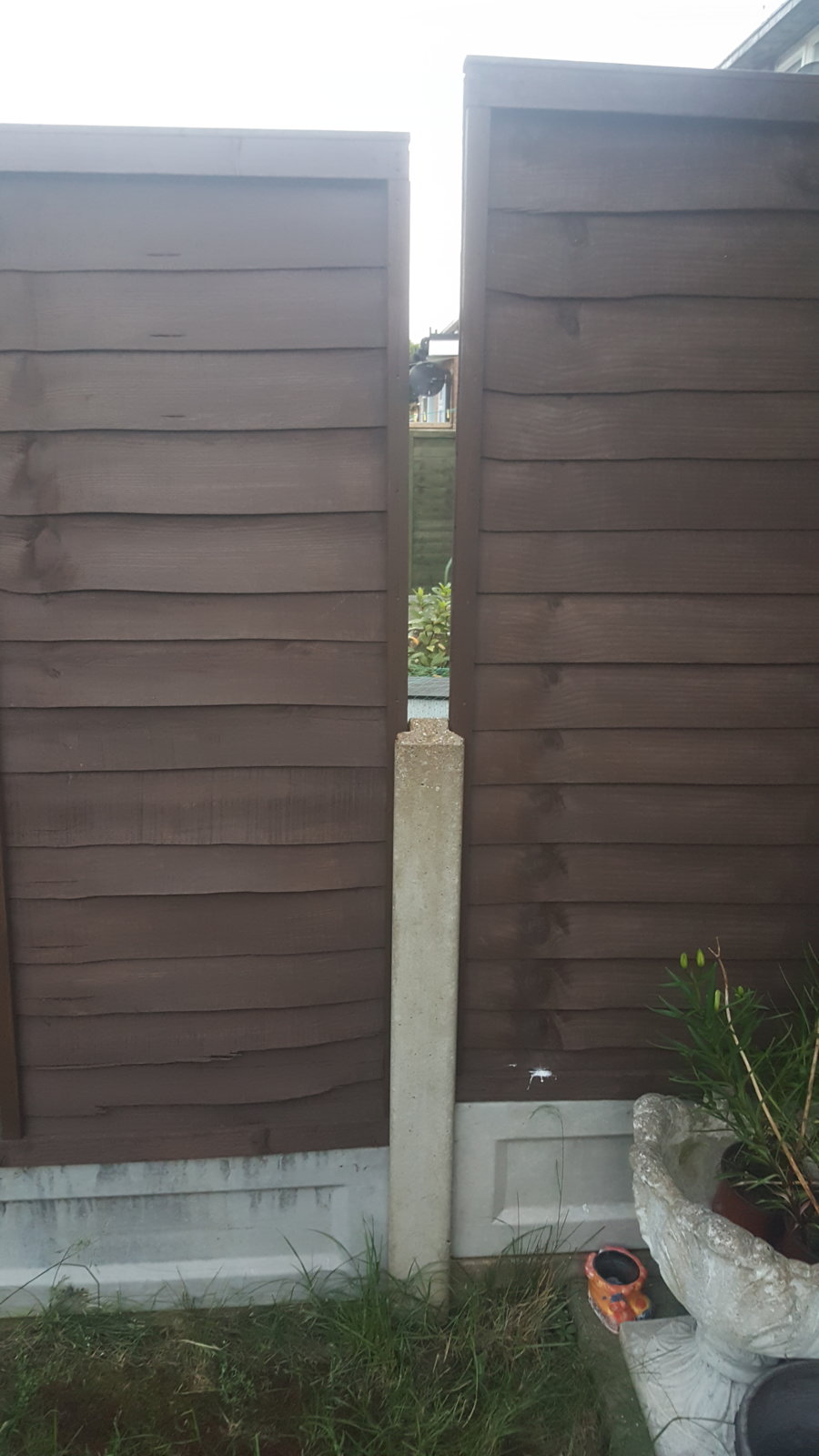 Concrete Fence Post Extenders Wickes Garden Design Ideas