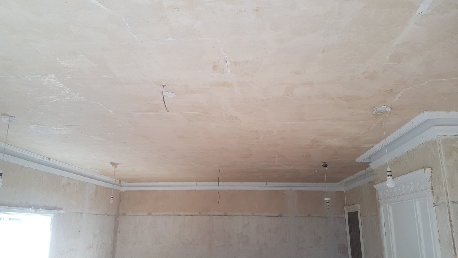 Lath And Plaster Lime Ceiling Repair