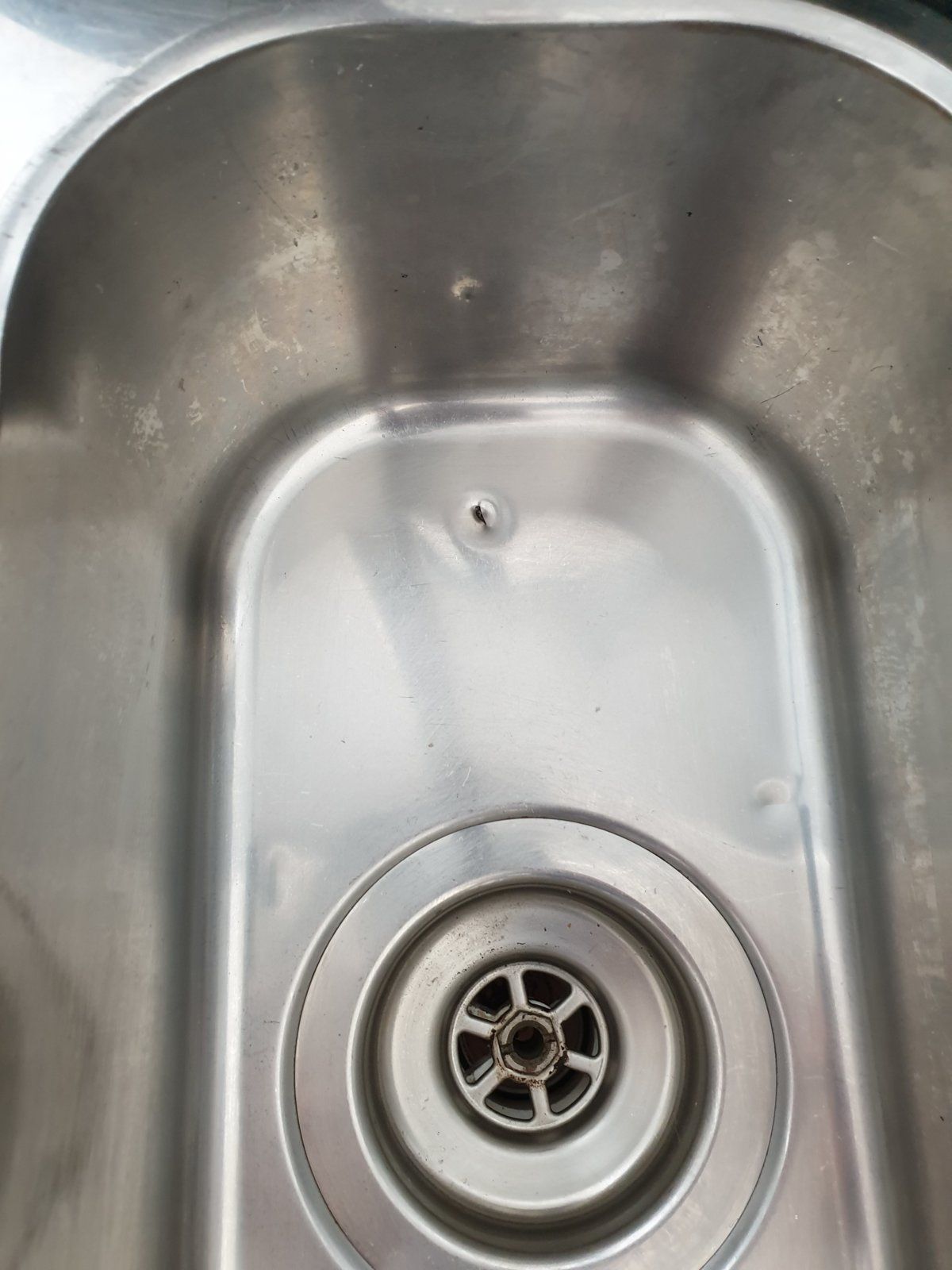 How To Repair Small Hole In Stainless Steel Sink Diynot Forums