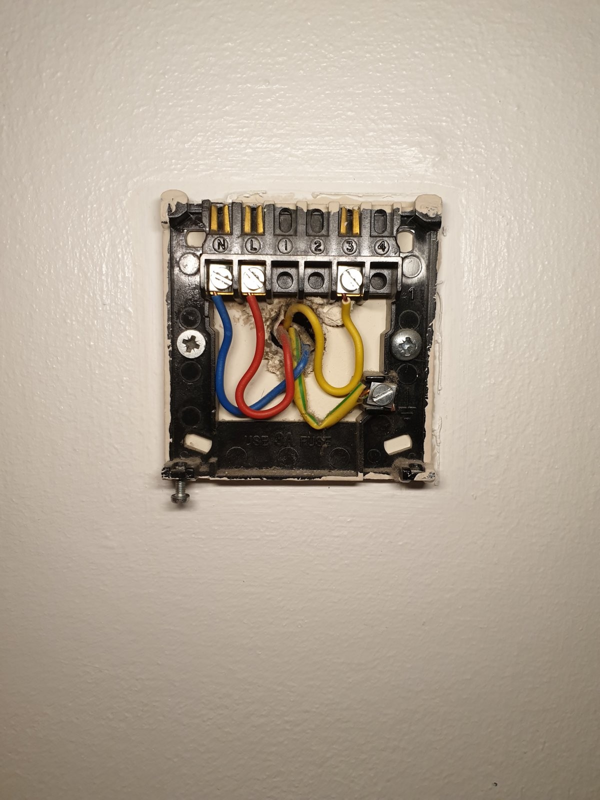 Swapping Drayton Rts1 For Digital Thermostat