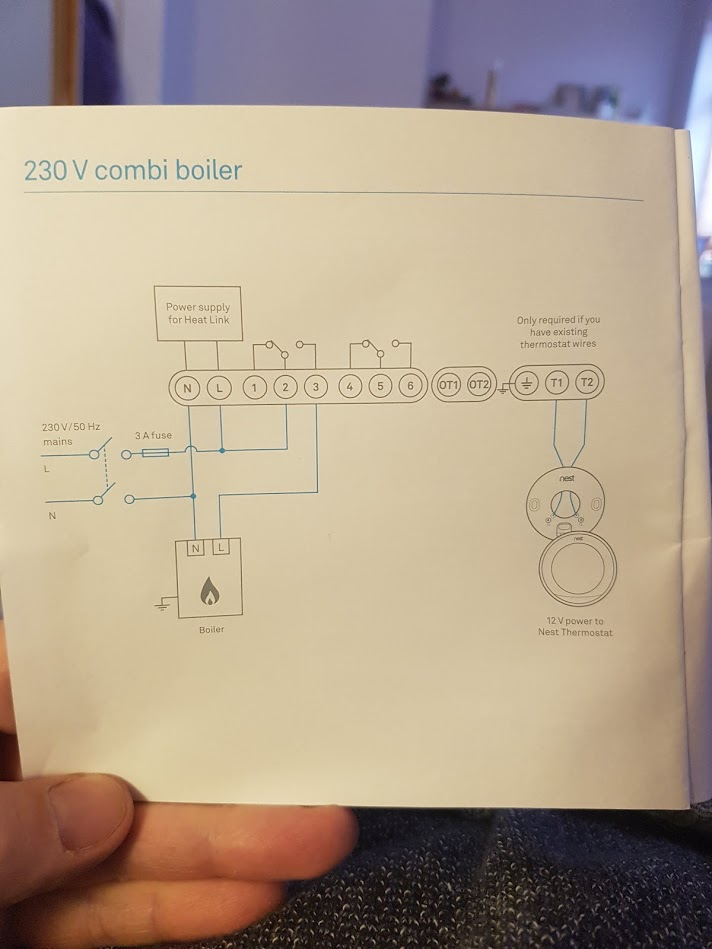 Wiring Nest to Glo Worm 30CXi boiler | DIYnot Forums