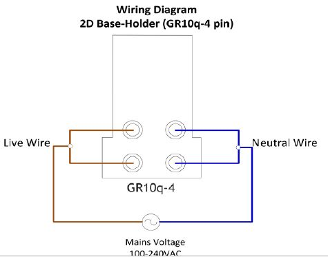 replacing a 2d 16w 4 pin gear tray with high frequency ballast for 2d lamp wiring diagram at n-0.co