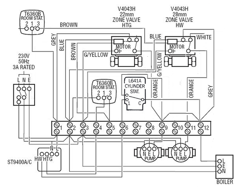 central heating control, any errors? diynot forumsHeating Thermostat Controller Diynot Forums #1