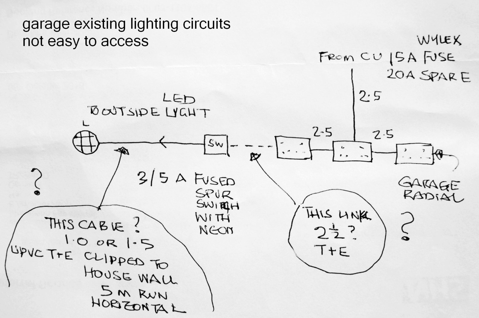 Outside Lamp Wiring Diynot Forums