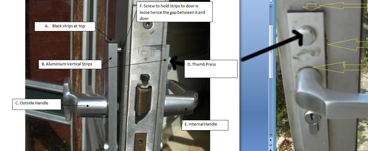 Upvc Union Monarch Lock How To Remove And Replace Handles Lock And Cylinder Diynot Forums