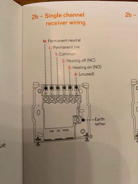 Replace Honeywell Receiver With Hive