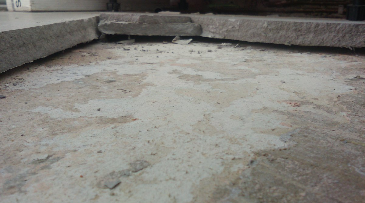 Self Levelling And Tiling Failure Diynot Forums