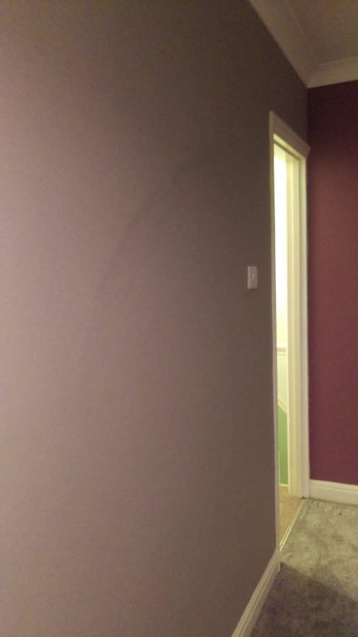 Repaint One Wall Whole Room