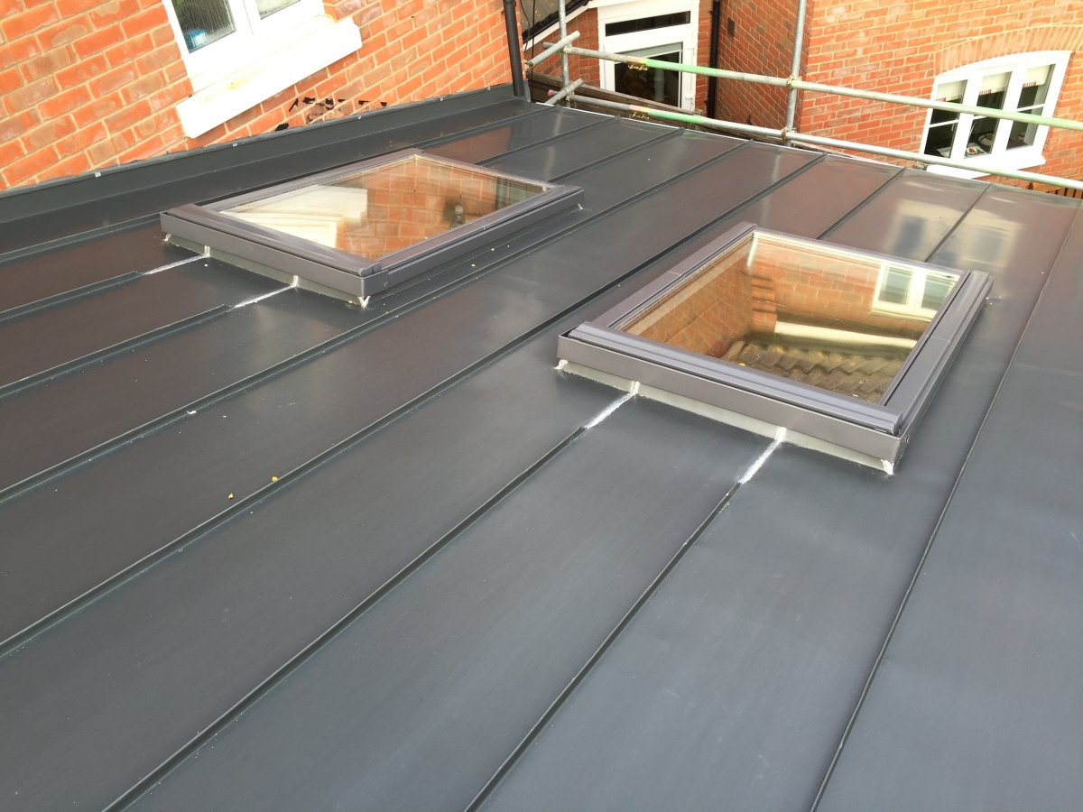 12 13 Degree Tiled Roof With Velux Flat Roof Windows