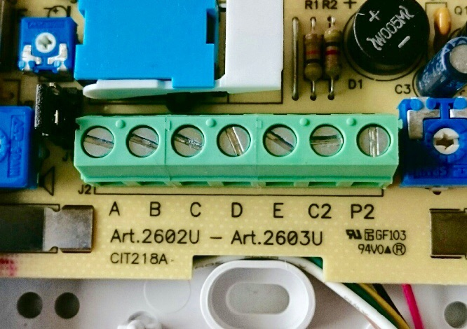 door entry handset replacement problem diynot forums comelit style 5 wiring diagram at couponss.co