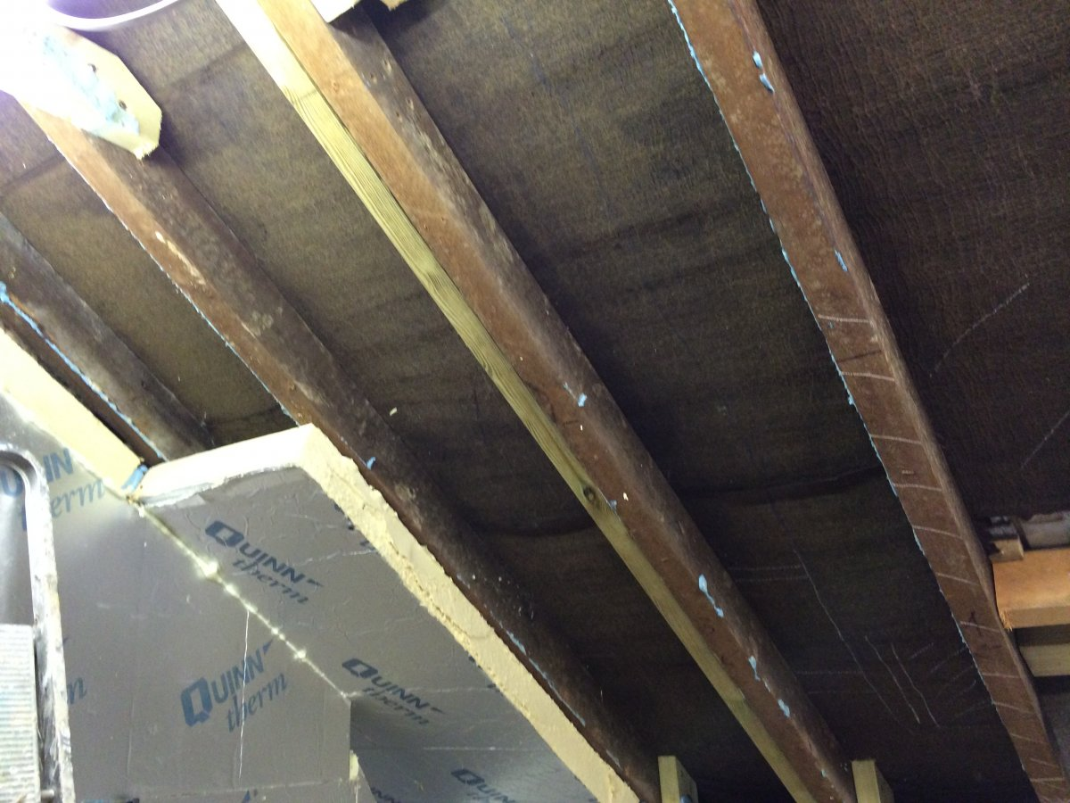 Diy Velux Install Learnings And Mistakes Diynot Forums Common Light Fitting Problems Img 0004