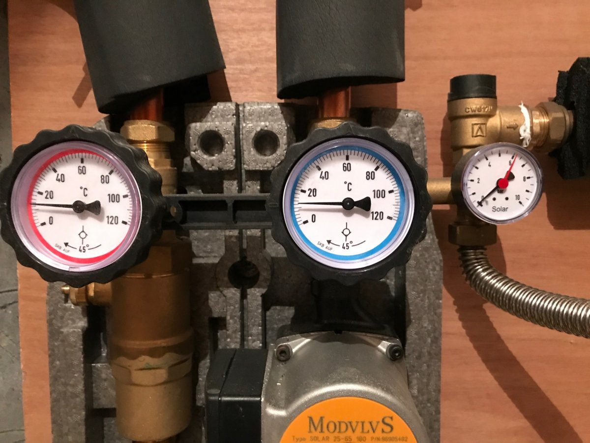 Leak From Solar Panel Pipework Diynot Forums