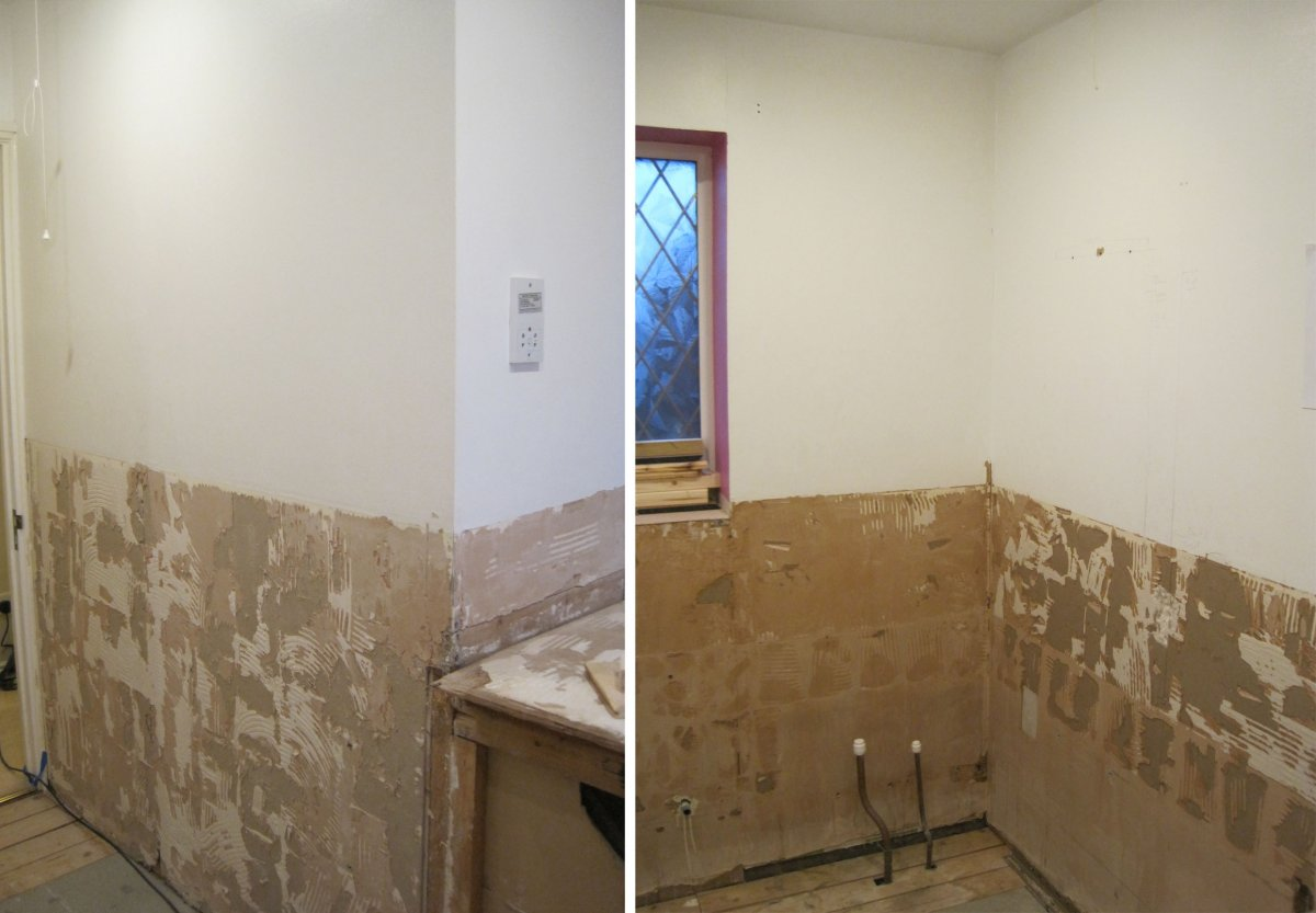 Plaster Feather Onto Painted Wall Dilemma Diynot Forums