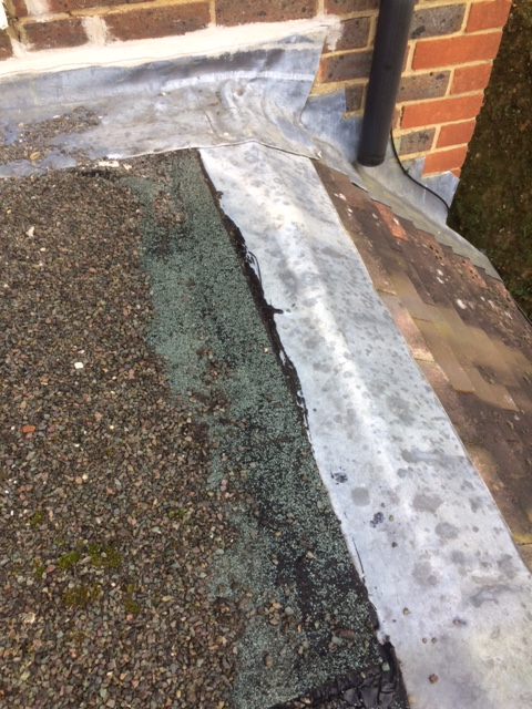 Advise On Flat Roof Repair Needed And Preventing Chippings