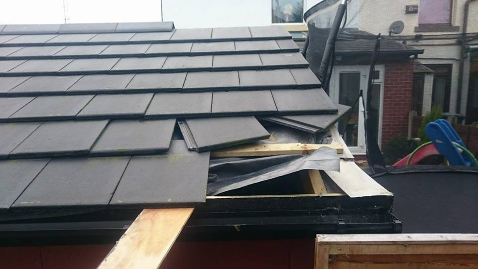 Roof Security Solution For Outbuilding Does This Work