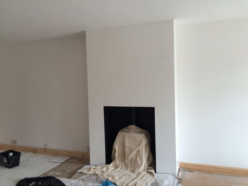 Tips On Painting A Feature Wall Chimney Breast Please