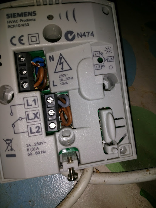 Siemens Thermostat To Hive Active Heating Wiring Help