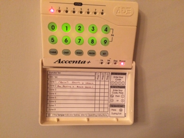 accenta ade security alarm issue diynot forums rh diynot com accenta 6 manual pdf accenta 6 alarm system manual