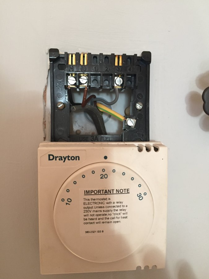 Drayton Thermostat Replacing With Nest