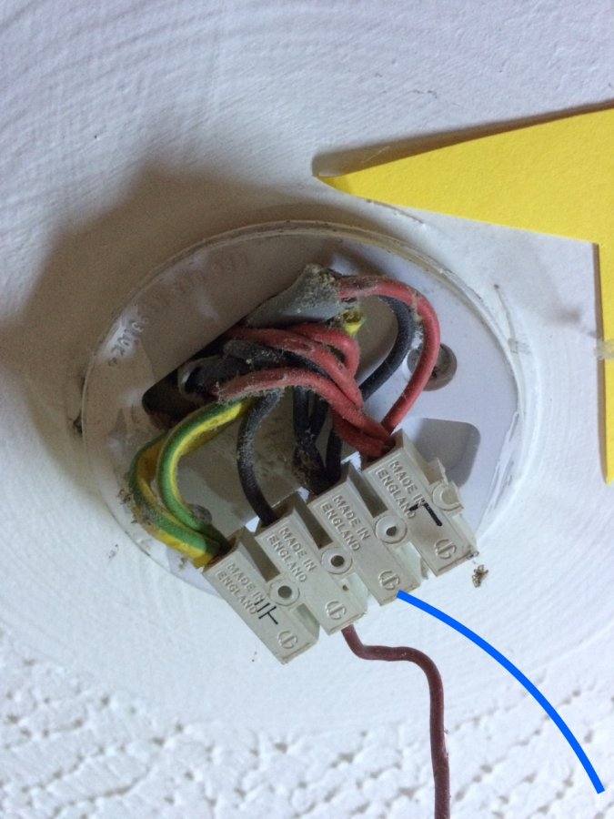 Wiring Light Switch Ceiling Rose