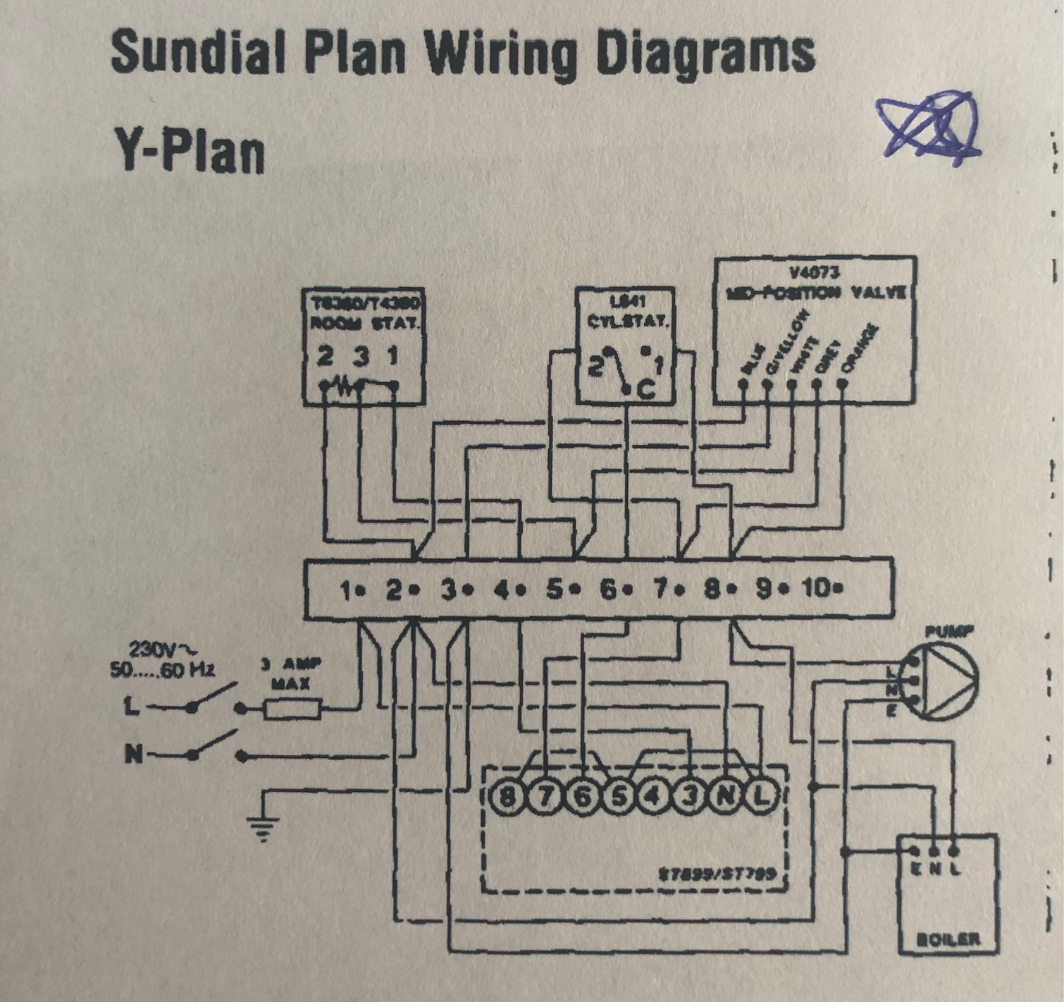 Honeywell T45 Wire Diagram