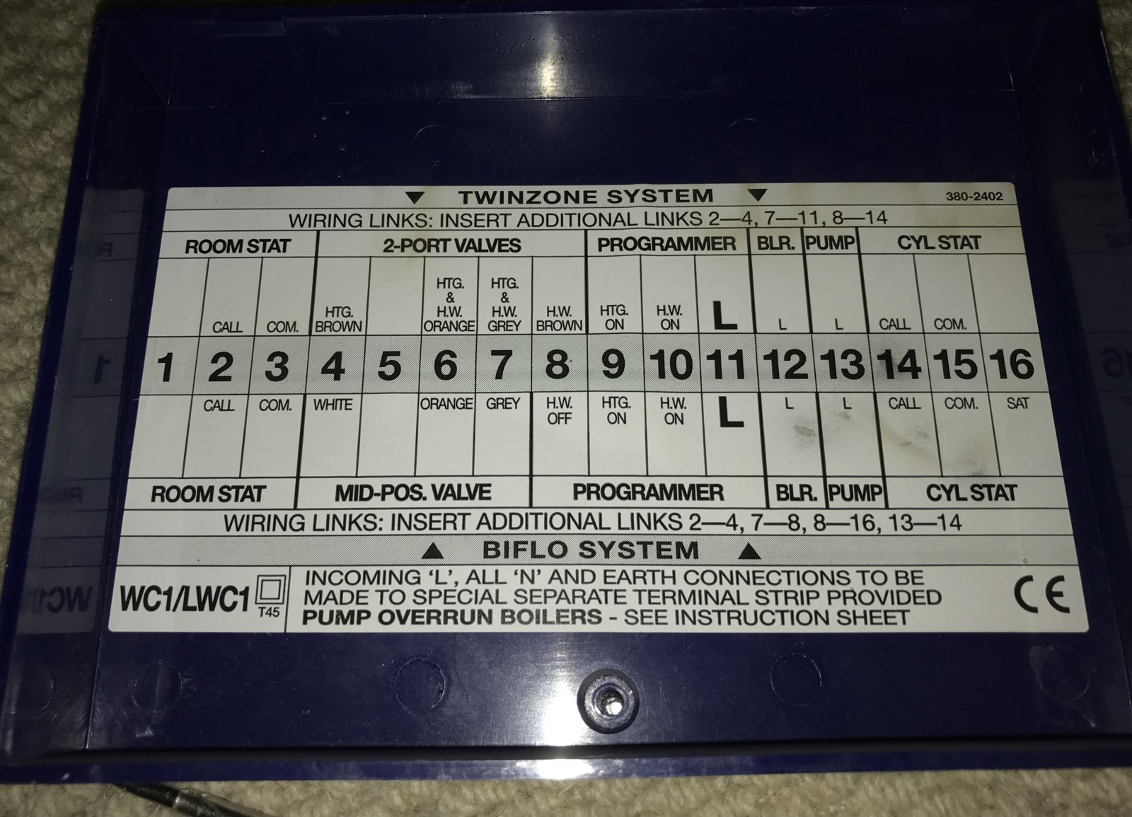 Hive thermostat instructions decommissioning wired thermostat for hive 2 install diynot forums cheapraybanclubmaster Image collections