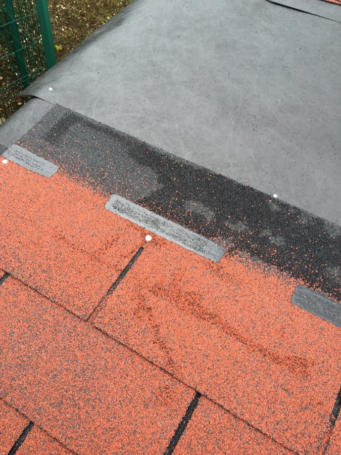 Where To Nail Shingles On To Summerhouse Roof Maybe