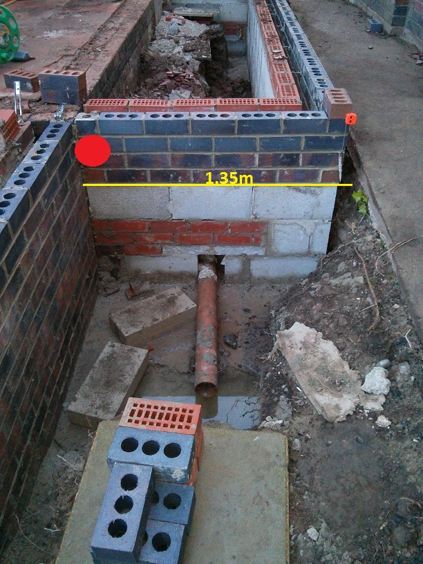 Connecting Kitchen Waste And Drainpipe To New Manhole