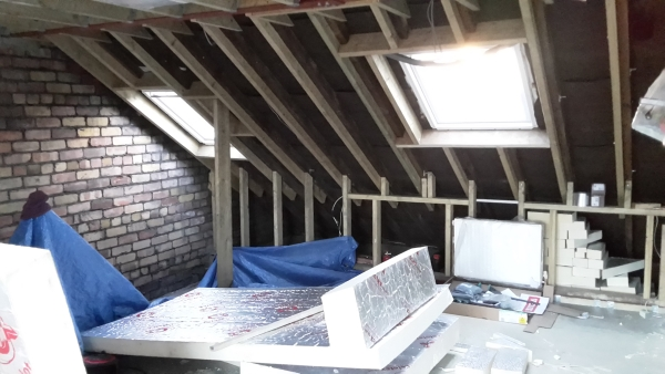 Loft Conversion Velux Spacing Rafters Diynot Forums