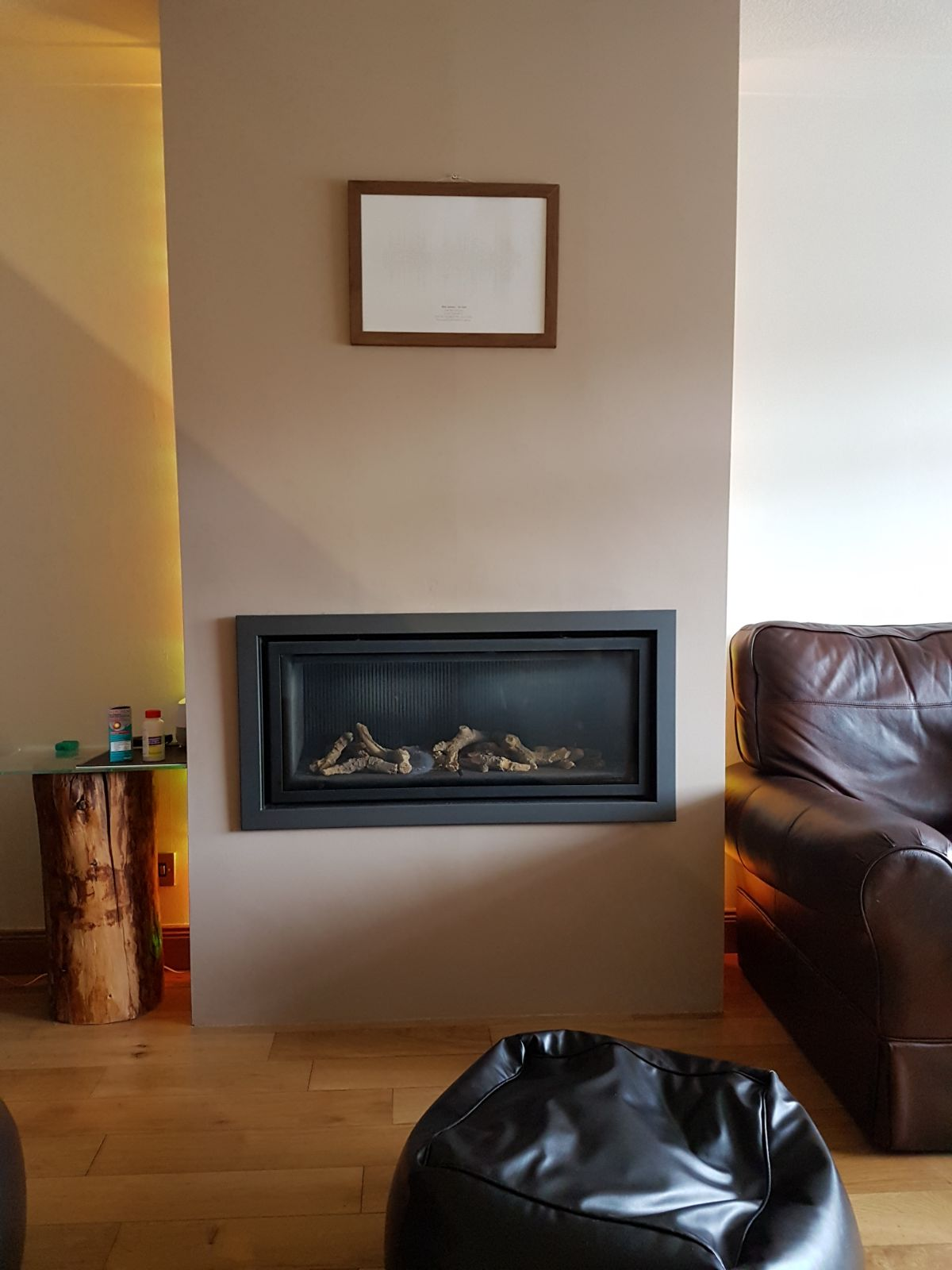 Will There Be A Problem Mounting Tv Above Gas Fire On The Wall Diynot Forums