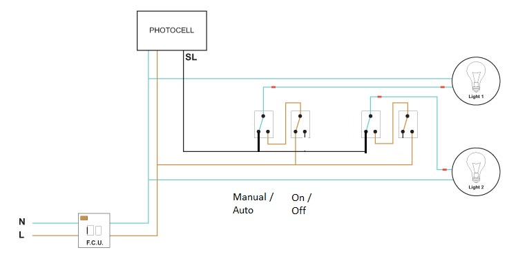 photocell switch line diagram photocell override - will this circuit be ok? | diynot forums