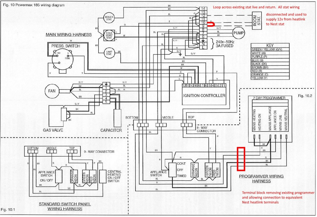 powermax wiring diagram