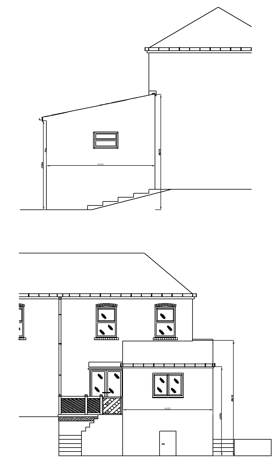 Proposed side rear elevation.png