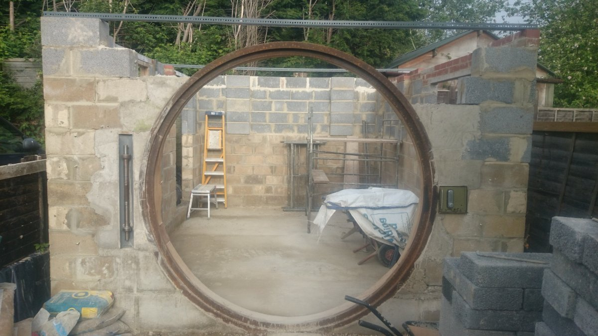 My Shed With A Round Hobbit Door Diynot Forums