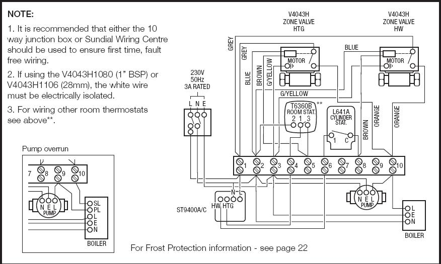 Drayton Wiring Diagram