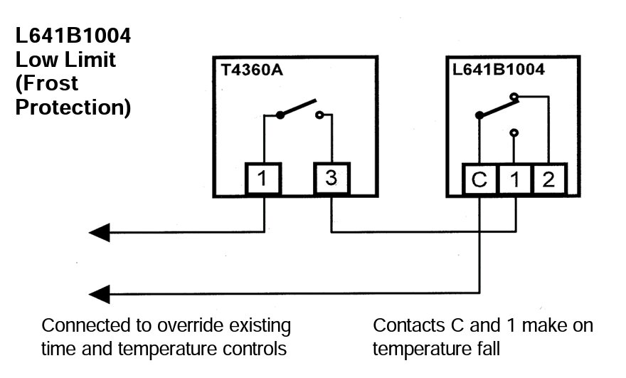heating wiring diagram frost stat wiring diagram and central heating wiring diagram frost stat diagrams