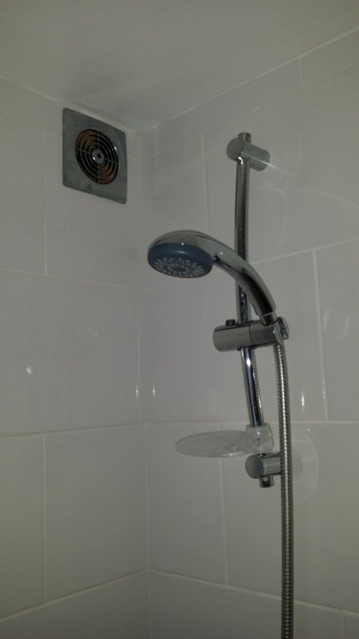 Legal To Install Extractor Above Shower