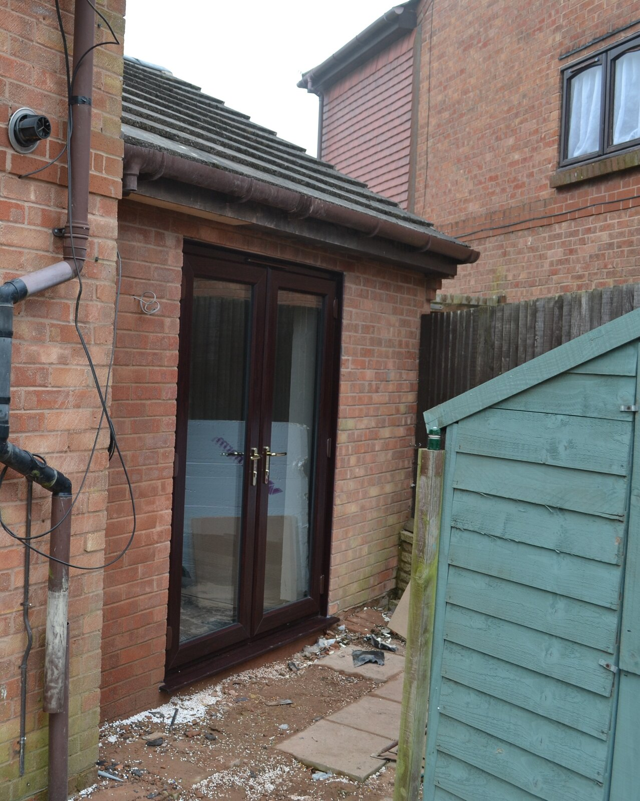 single storey side extension - rear picture 2.jpg