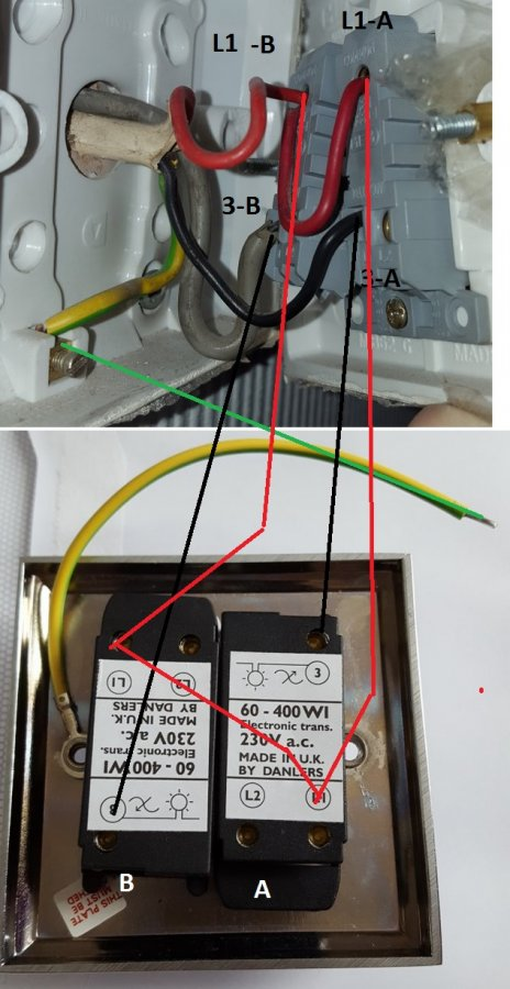 Double Dimmer Switch