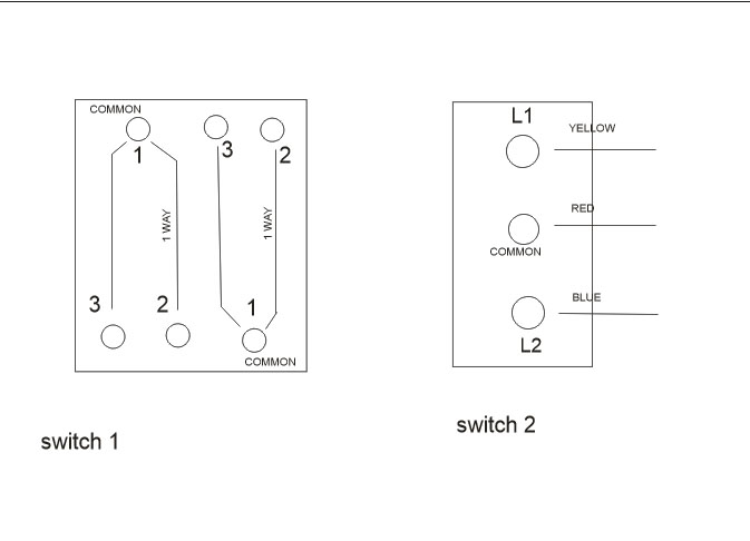 Using A Two Gang Light Switch For